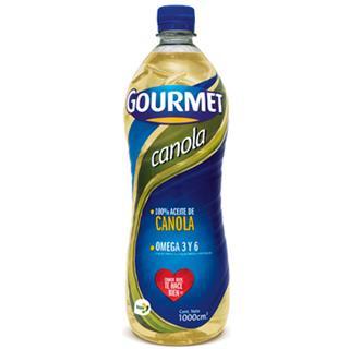 Aceite de Canola Gourmet 1000 ml