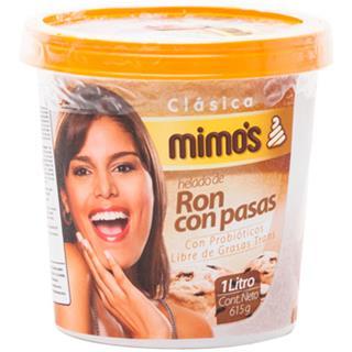 Helado de Ron con Pasas Mimo's 615 g