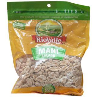 Maní Salado RioValle 200 g