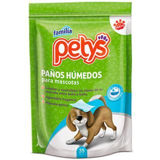 Paños Húmedos para Mascotas Petys 35 unidades