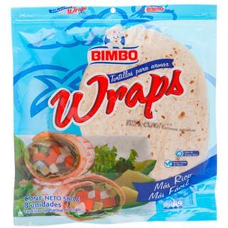 Tortillas Wraps Bimbo 580 g
