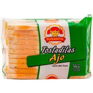 Tostadas Aliñadas con Ajo Susanita 90 g