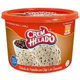 Helado con Chips de Chocolate Crem Helado 1200 g en Éxito
