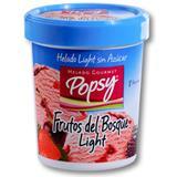 Helado Dietético con Sabor a Frutos Rojos Popsy 600 g en Jumbo