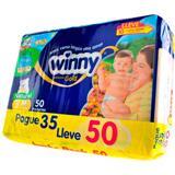 Pañales Etapa 2 Winny 50 unidades en Éxito