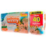 Pañales Etapa 3 Winny 40 unidades en Éxito