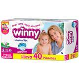 Pañales Etapa 4 Winny 40 unidades en Éxito
