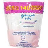 Paños Húmedos para Bebé Johnson's Baby 140 unidades en Ara