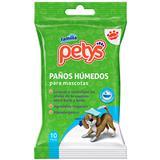 Paños Húmedos para Mascotas Petys 10 unidades en Éxito